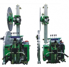 W207 concrete wall saw cutting machine | concrete wall cutting saw | hydraulic concrete saw